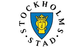Logga Stockholms stad.