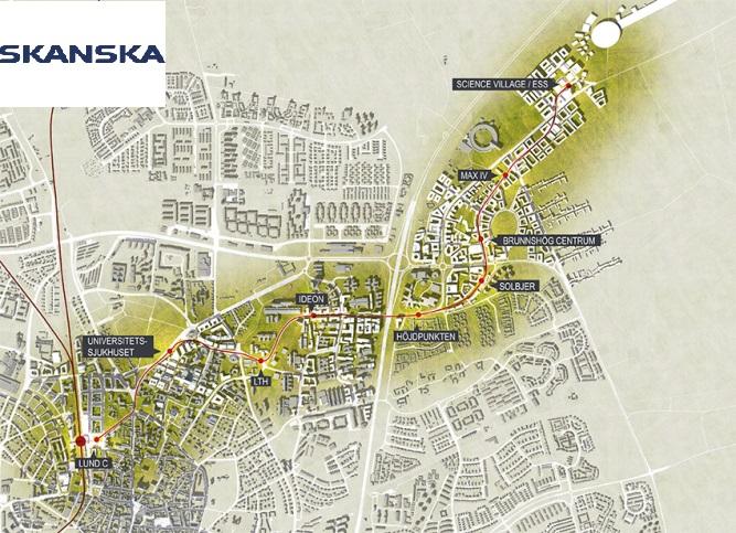 Klotterkonsulten AKS i Malmö vinner upphandling om betongimpregnering och klotterskydd av nya spårvägen i Lund