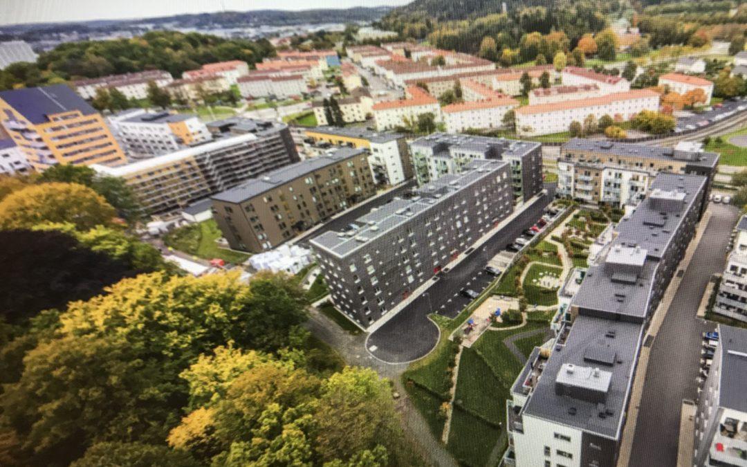 Samfälligheten Öster om Bellevue i Göteborg klotterförsäkrar sina fastigheter hos oss