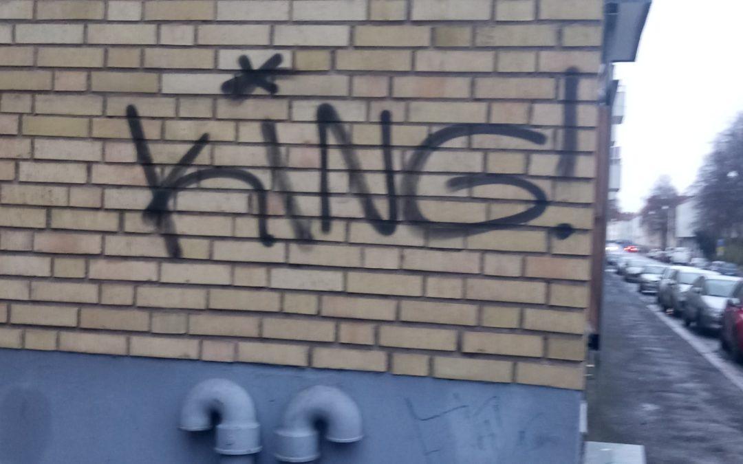 CA Fastigheter i Jönköping väljer klottersanering från Klotterkonsulten AKS