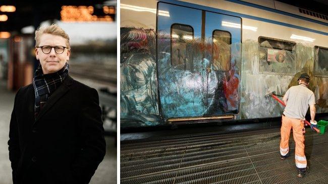 Upptrappning av bekämpningen av klotter i Stockholm
