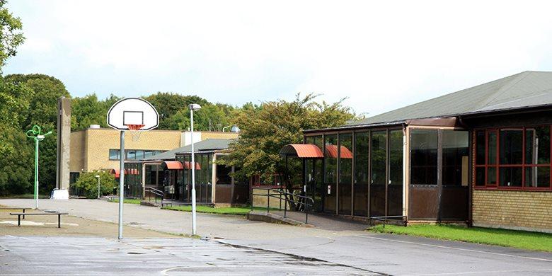 Lyckeby kunskapscentrum i Karlskrona utsatt för klotterattack
