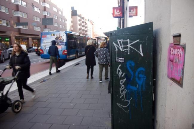 Polisanmälningar för klotter ökar på Kungsholmen