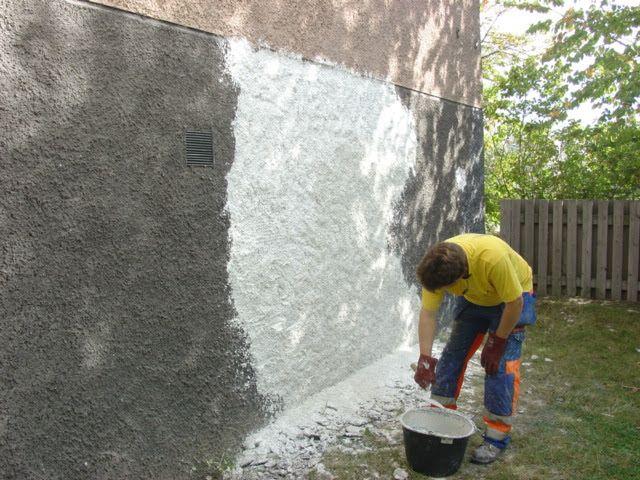 Renovering av fasad