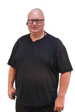 Ulf Persson arbetsledare klottersanering