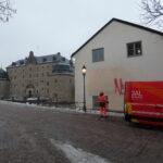 Klottersanering arbetshuset slottet