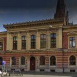 klottersanering i Malmö av riksbankshuset