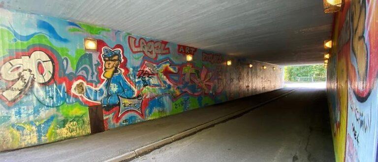 Kanske Sveriges äldsta graffiti